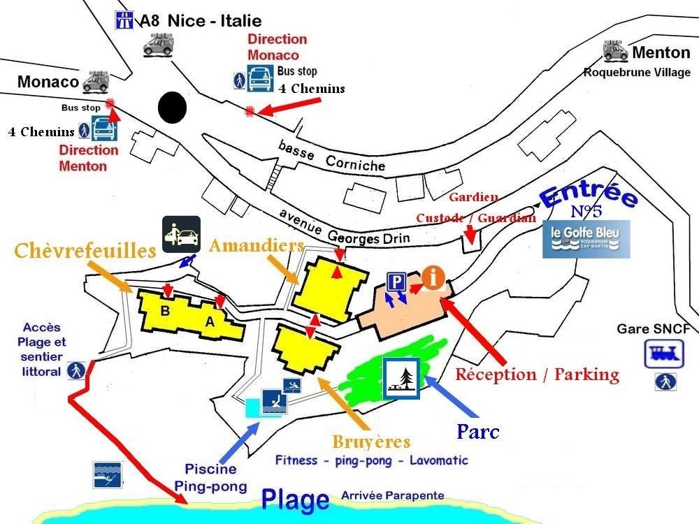 useful infos around Golfe Bleu resort legolfebleucom
